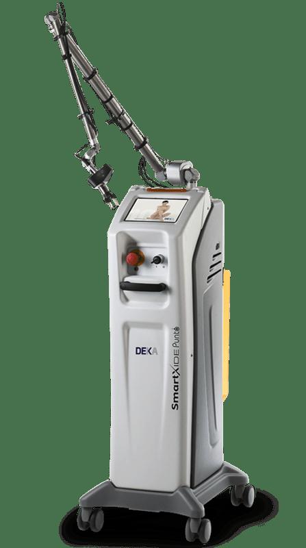 фракционная лазерная шлифовка